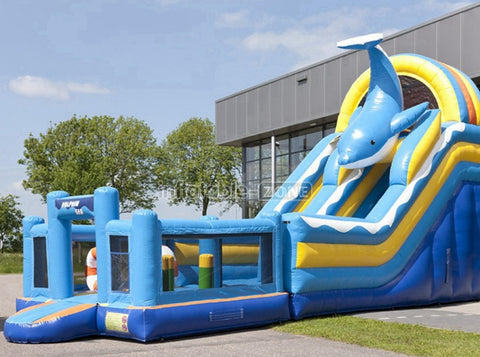 Best quality inflatable zone inflatable water slides to purchase at present