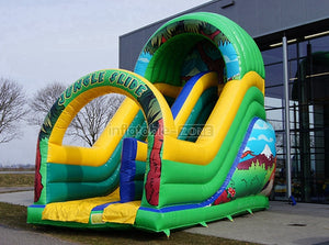 Inflatable slide for sale, small inflatable slide