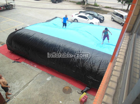 High quality stunting air bag for rental here and now