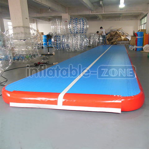 Free shipping, inflatable race track for gymnastics,inflatable gym mat