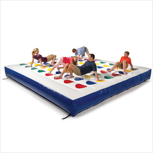 Gaint Inflatable Twister Game,Inflatable Twister Mattress,Giant Twister Bed For Sale, Free Shipping