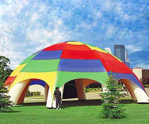 Buy Rainbow Inflatable Tent For Party