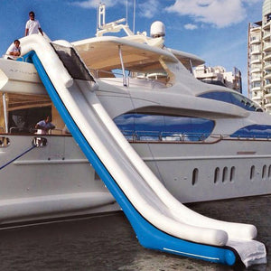 Free Shipping Funny Inflatable Yacht Slide For Sale
