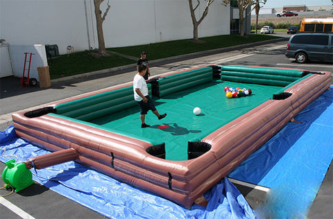 Free Shipping,New Inflatable Bumper Pool Games for sale