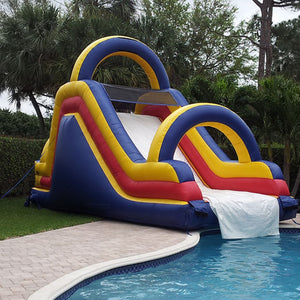 Free Shipping, inflatable pool slides for swimming pool water games for sale