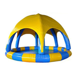 Super Deal, Inflatable Swimming Pool Toys With Inflatable Tent For Water Game For Sale