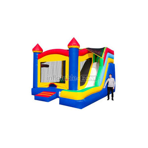 Bounce house places kids inflatable jumping castle free logo