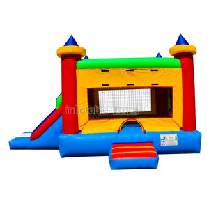 Princess combo bounce house inflatable bouncy castle for sale nice quality