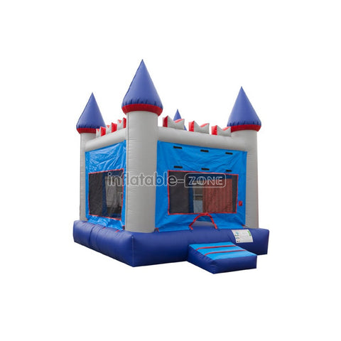 Wet dry combo bounce house happy hop inflatable jumping castle excellent quality