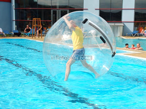 Giant hamster ball on water water balloon ball