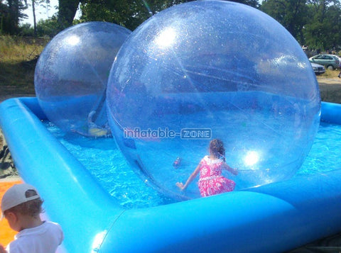 High quality ball floating on water, water soccer ball for rent here