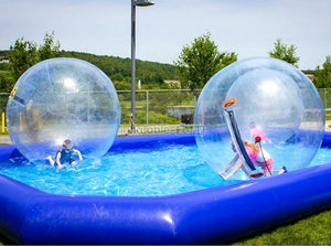Beautiful inflatable water ball, ball that bounces on water