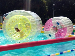 High quality inflatable roller, water roller coaster for rent in low price right now