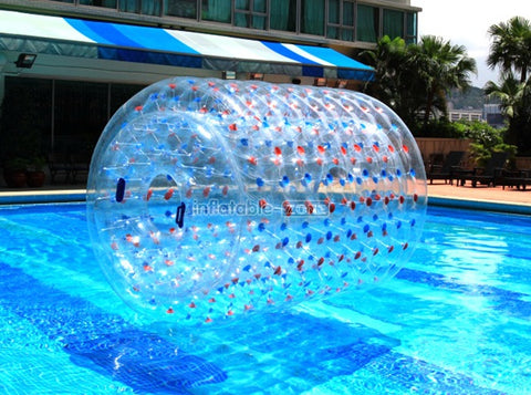 Top quality roller inflatable wheel, inflatable water roller to purchase at present