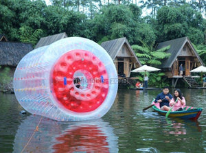Great quality garden water roller, water barrel roller for rental here and now