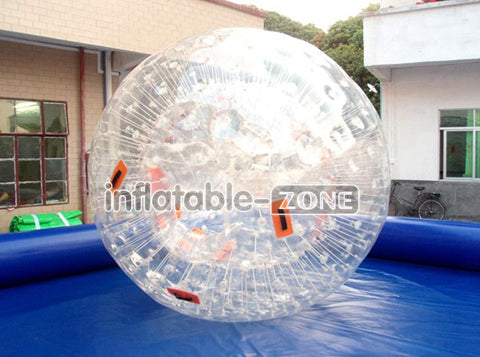 Soccer zorb balls supplier, feel water zorbing ball