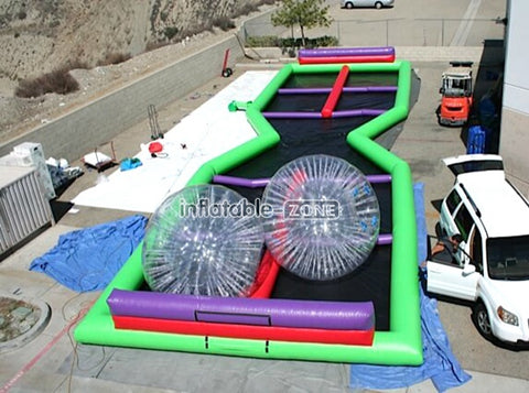 Excellent quality zorb track for rent here