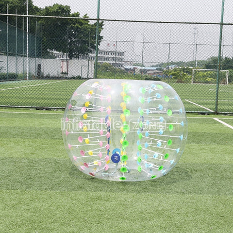 Beautiful Colorful Dot Bubble Football Suits Prix, Bubble Football Comprar