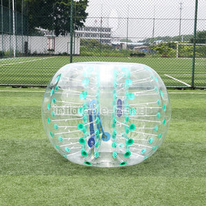 Good Green Dot Color 1.5m Giant Hamster Ball for Sale, Inflatable Zone Toys Bubbles