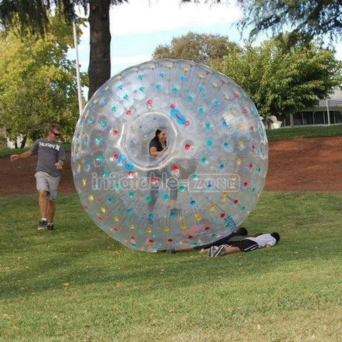 2.5m Colorful dot zorbing near me,zorbing gold coast