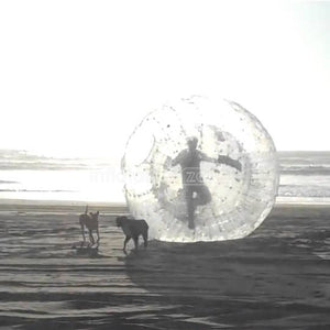 Good quality 2.5m sphereing zorbing uk,zorbing on water for sale