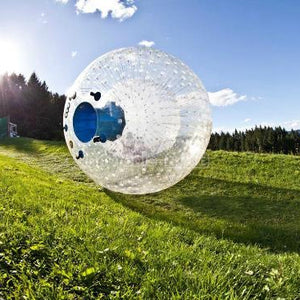2.5m Blue enter zorbing in new zealand,zorbing queenstown