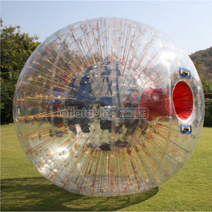 New design red string zorb racing,zorb suit aquazorbing,orbing