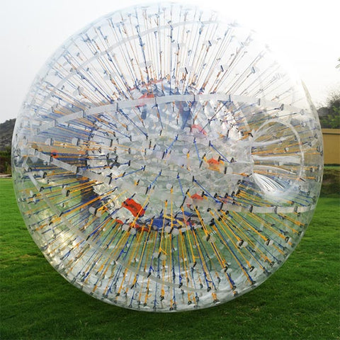 Free Shipping, 2.5m Colorful String Zorbing Balls For Party Event And Outdoor Sport Toys For Sale