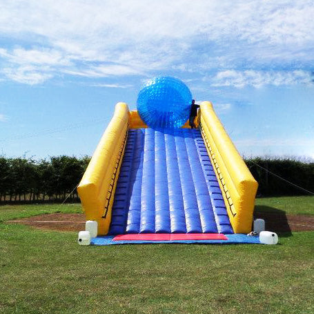 Free Shipping, Funny Zorb Ramp For Zorbing Ball Games