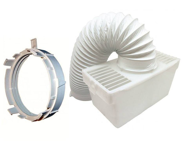 Zanussi TE350, ZDE47200W Tumble Dryer Vent Kit Box, Vent Hose & Adaptor Kit