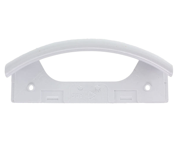 Plastic Door Handle for Bosch KKU, KSV Series Fridge Freezers White 096110