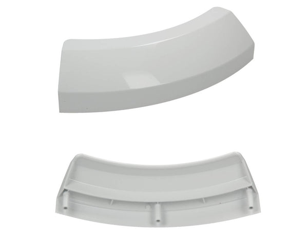 White Door Handle For Bosch Tumble Dryer WTV76302, WTV76320, WTV76380 Spare Part