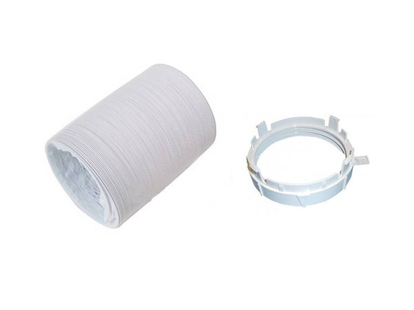 AEG & ZANUSSI TD4100 TD4112/ 4113 Tumble Dryer VENT HOSE & ADAPTOR KIT XTRA LONG