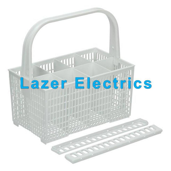 Genuine Electrolux Dishwasher Cutlery Basket & Knife Rack White