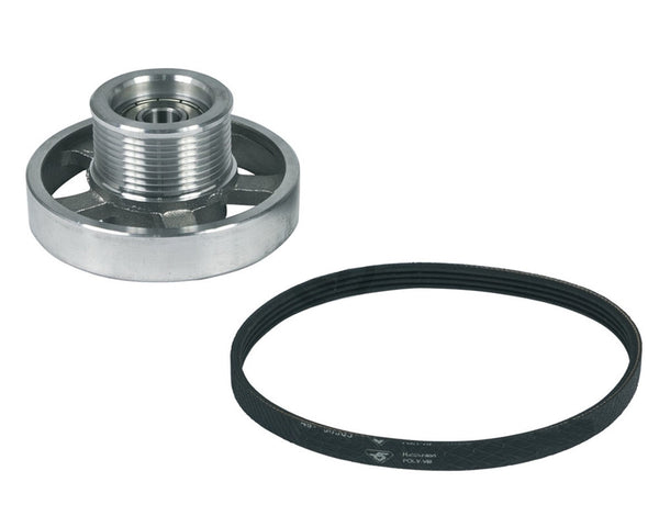 Jockey Pulley Wheel and Drive Belt Kit for Blomberg 492204404 Tumble Dryers