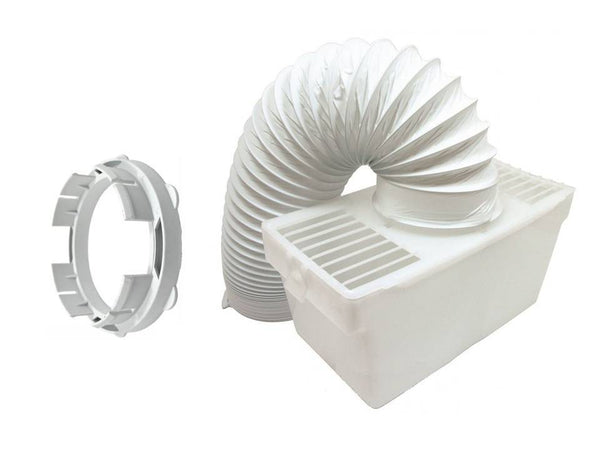 White Knight Crosslee CL332, CL372 Tumble Dryer Vent Kit Box, Hose & Adaptor Kit