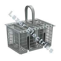 GENUINE CUTLERY BASKET FOR HOTPOINT INDESIT DISHWASHER GREY C00257140