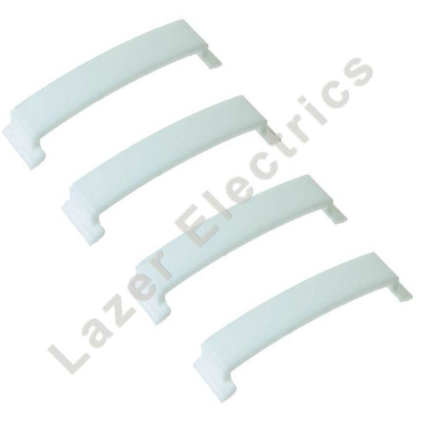 4 x For Beko Tumble Dryer Drum Bearing Pad DCU1560X DCU2560XS DCU2570