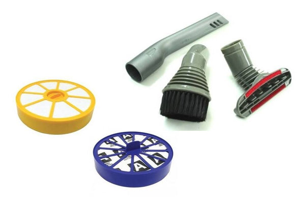 For DYSON DC14 Vacuum Crevice Dust Stair TOOL & PRE & POST Filter KIT SPARE PART