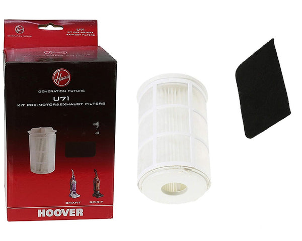 Genuine Hoover TH71 VR81 series listed Vacuum Cleaner U71 Filter Kit