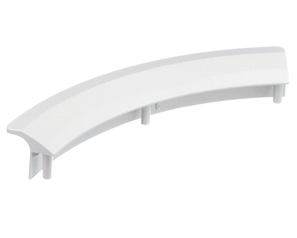 White Door Handle for SIEMENS Tumble Dryer Curved Replacement 497522
