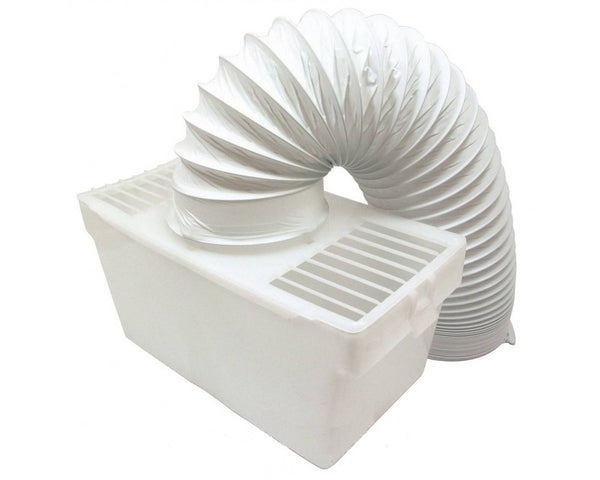 "Indoor Condenser Vent Kit Box With Hose for Miele Tumble Dryers 4"" 100mm"