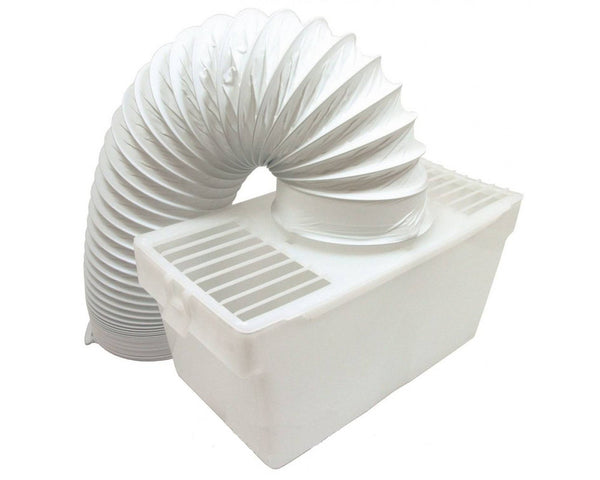 "Indoor Condenser Vent Kit Box With Hose for Creda Tumble Dryers 4"" 100mm"