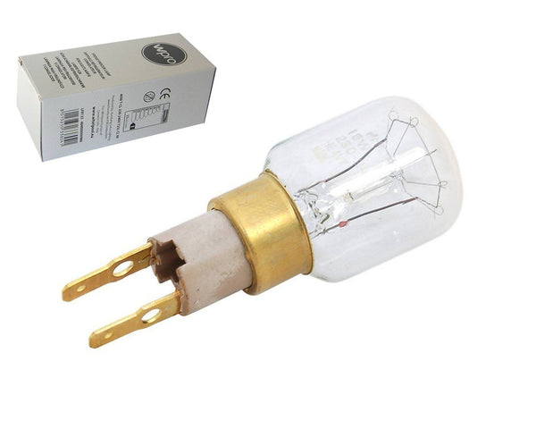 GENUINE WHIRLPOOL T-CLICK TYPE 15W T25 FRIDGE LAMP BULB