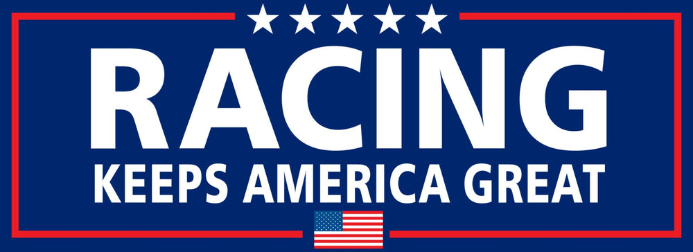 Racing Keeps America Great Sticker