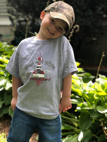 Toddler- Just Get Dirty Big Rig Tee