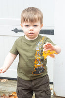 Toddler- just Get Dirty 4x4 Tee, Green or Pink