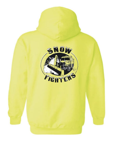 Plow Truck Hoodie (Safety Green, Orange or Pink)