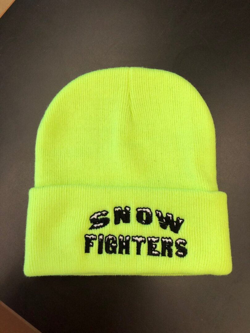 Snow Fighters Beanie- Multi Colors