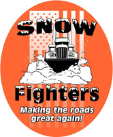 Snow Fighters Stickers